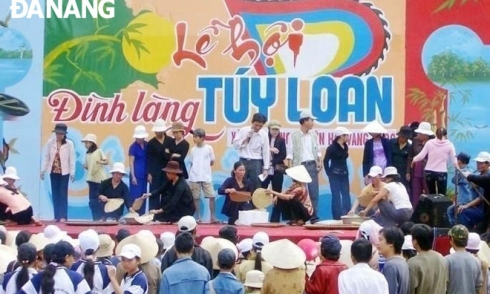 Vùng đất, con người Hòa Vang: Thăm Túy Loan, khám phá văn hóa đình làng