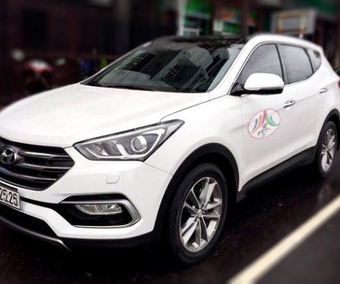 Xe Hyundai Santa Fe 7 chỗ