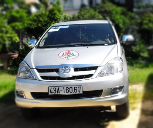 xe Toyota Fortuner  7 chỗ